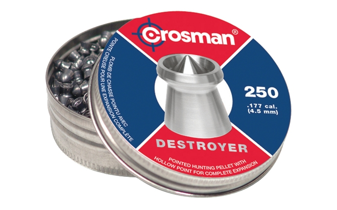 "Пуля пневм.""Crosman Destroyer"" 4,5к/0,48/ 250 шт."