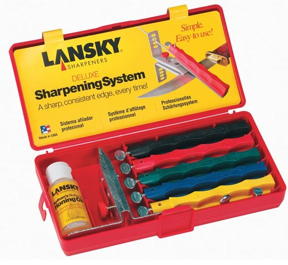LKCLX - Lansky Deluxe Controlled-Angle Sharpening System