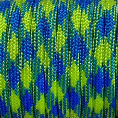 Paracord 550 Blue green